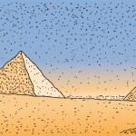 Pyramids — Stock Vector #11851293