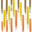 Painted lines — Stock Vector