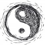 Ying yang symbol — Stock Vector #11976065