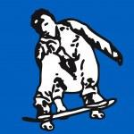 Skater — Stock Vector #11976241