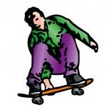 Skater — Stock Vector #11976246