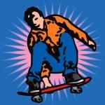 Skater — Stock Vector #11976248