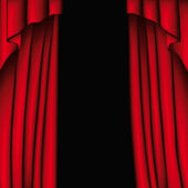 Curtain — Stock Vector