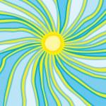 Sun rays — Stock Vector #12006449