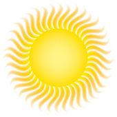 Sun rays — Stock Vector