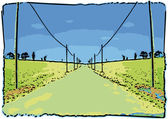 Road ahead — Stock Vector
