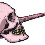 Постер, плакат: Pinocchio Skull
