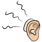 Hearing aid — Stock Vector