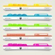 Royalty-Free Stock Vector Image: Elements of web design.