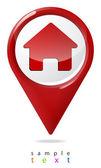 Checkbox an image house. — Stock Vector