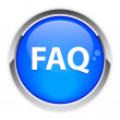 Bouton internet question FAQ. — Imagen vectorial