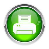Button Internet print — Stock Vector