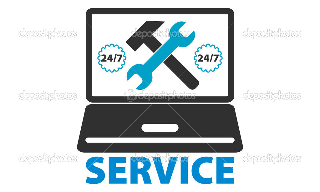 Computer repair service — Stock Vector #11411201