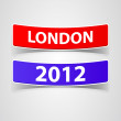 London label — Stock Vector
