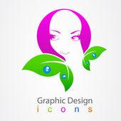 Care Graphic Design. — Stock Vector