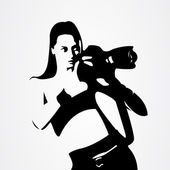 Photographe — Vecteur