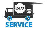 Service 24.7 — Stock Vector