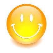 Sphere smiley icon. — Stock Vector