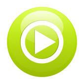 Bouton flash jeux internet conférence vector — Vecteur