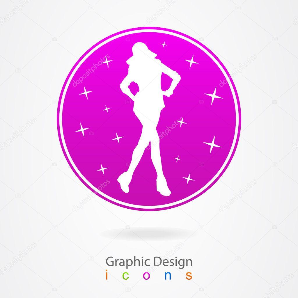 Graphic Design Fashion Star Stock Vector Maxsim 11639418