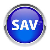 Bouton web sav service après vente — Vecteur