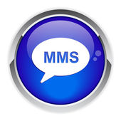 Button message mms. — Stock Vector