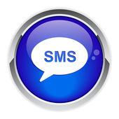 Button message sms. — Stock Vector
