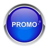 Promoción por internet bouton. — Vector de stock