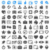 Business Icons collection different. — Stock Vector