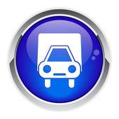 按钮互联网载重汽车 livraison. — 图库矢量图片