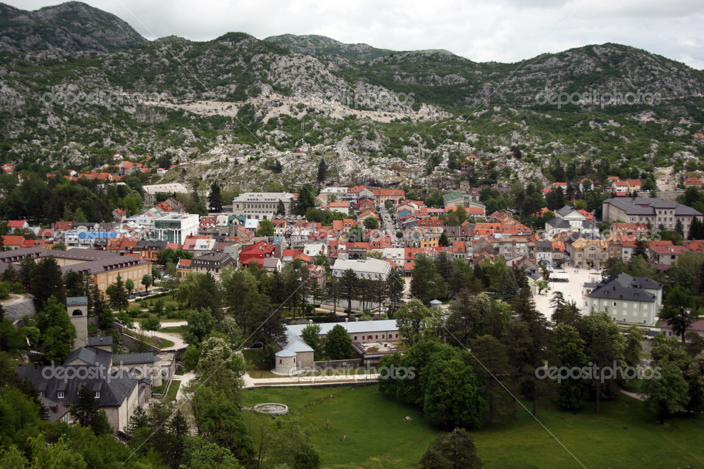 View on the city Cetinje, Montenegro  Stock Photo #11222333