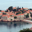 Sveti Stefan island in Montenegro - Stock Photo