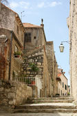 Streets of old Croatia — Stock Photo