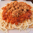 Royalty-Free Stock Photo: Spaghetti Bolognese