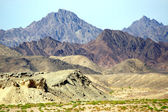 Colorful mountains of Sinai in Ras Mohamed — Stock Photo