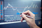 Market Analyze — Stock Photo