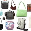 Stock Photo: Different collection of handbags