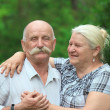 Elderly couple — Stock Photo #11337569