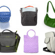 Different handbags - Stock Photo