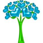 Heart of the tree illustration — Stock Photo #11497964