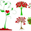 Heart tree illustration — Stock Photo #11498003