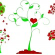 Royalty-Free Stock Photo: Heart tree illustration