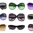 Stock Photo: Collection of sunglasses