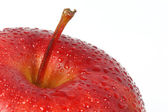 Apple with droplets — Stock Photo