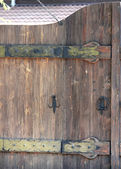 Background of the wooden fence — Stock Photo