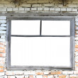 alt  fenster — Stockfoto