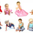 Children collection — Stock Photo