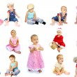 Stock Photo: Collection of children