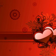 Illustration background with heart — Stock Photo #11690899
