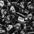 Baby on an ultrasound image — Stock Photo #11690912